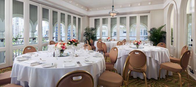 Roof Garden Wedding Receptions