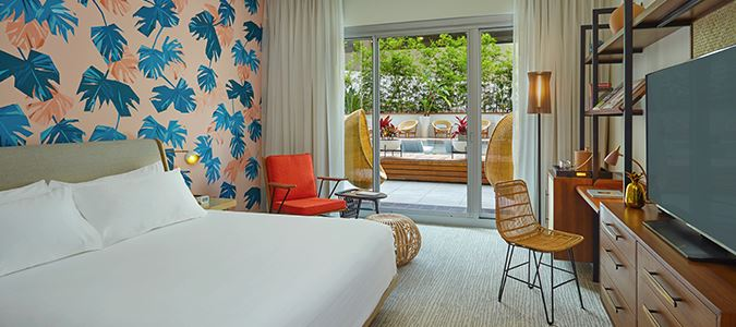 Deluxe Cabana Guestroom