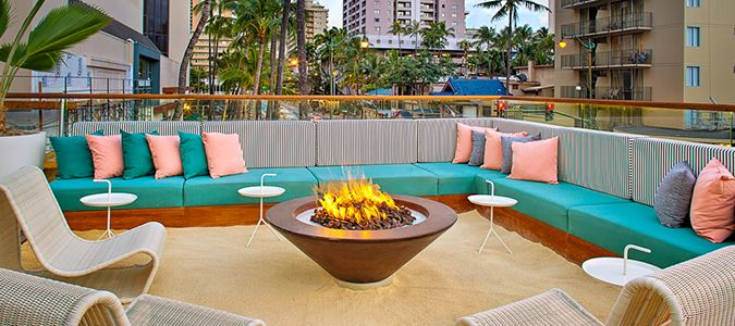 The Hideout Fire Pit