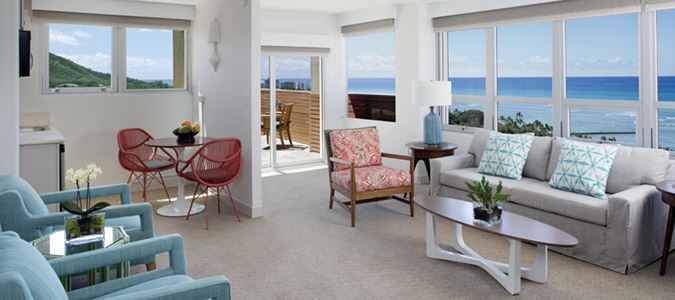 QK Premier One Bedroom Oceanview Suite