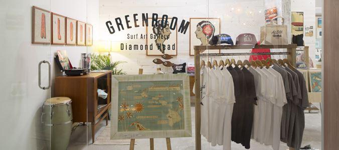 Greenroom Surf Art Gallery