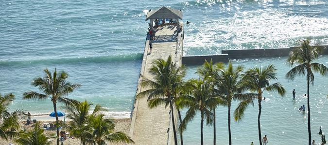 Nearby Waikiki Beach