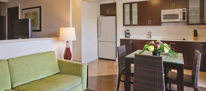One Bedroom City View Suite