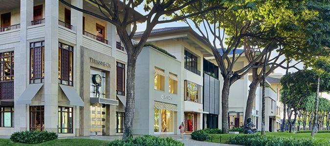 Luxury Row Shopping
