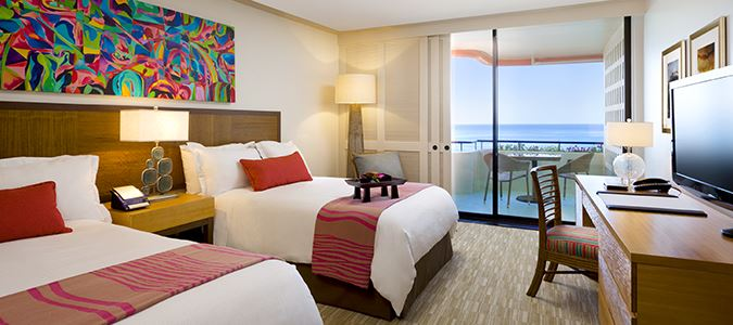 Mailani Tower Ocean Double Guestroom