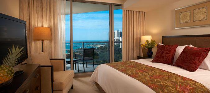 Deluxe One Bedroom Oceanview Suite
