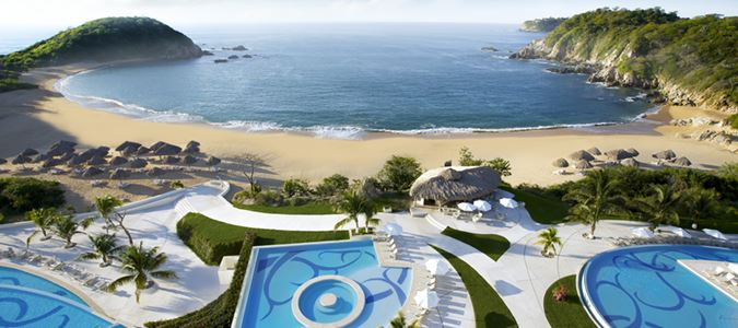 Pools and Beach