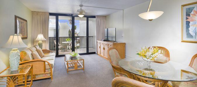 One Bedroom Two Bath Partial Oceanview Suite