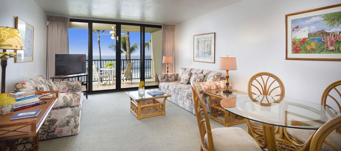 One Bedroom Two Bath Oceanfront Suite