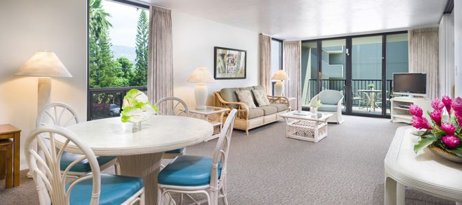 Two Bedroom Two Bath Oceanview Suite