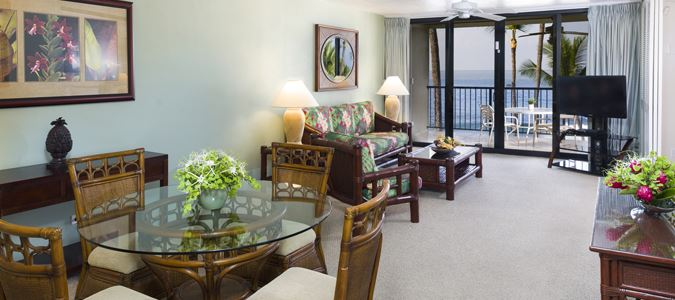 Two Bedroom Two Bath Oceanfront Suite