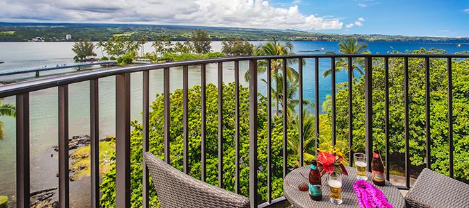 One Bedroom Oceanview Suite with Kitchenette Lanai