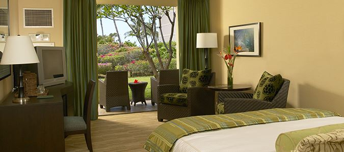 Garden Mountain View Guestroom