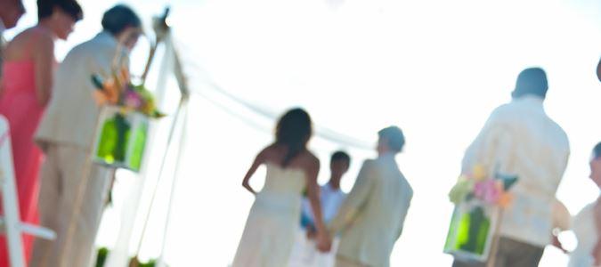 Weddings on Sunset Beach