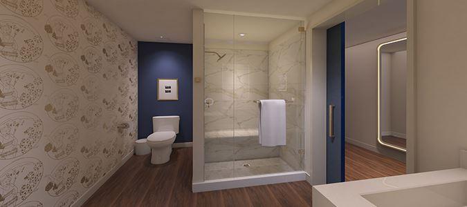 Guestroom Bath Rendering