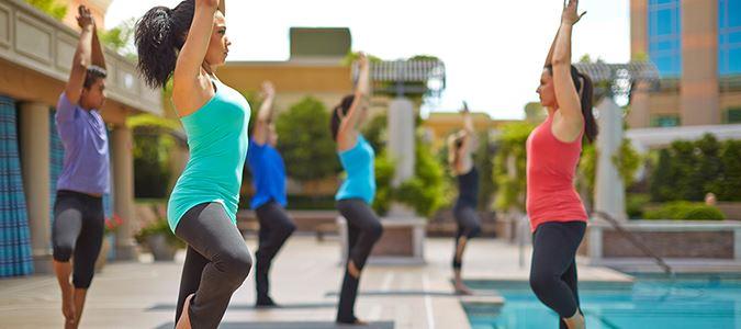 Canyon Ranch Spa Yoga