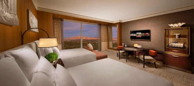 Wynn Panoramic View Guestroom
