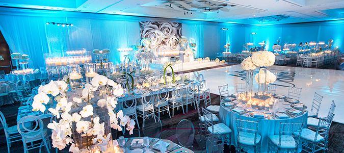 Hollywood Ballroom Wedding Reception