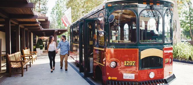Trolley Service to Universal Studios