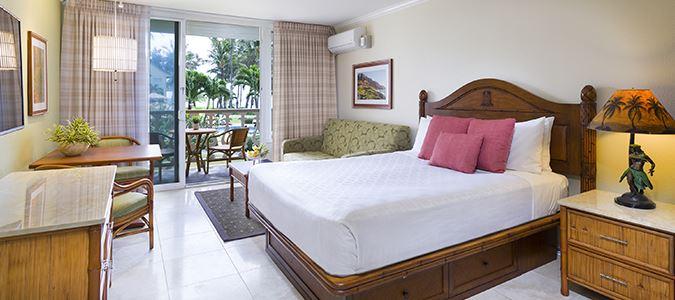 Oceanview Hotel Guestroom