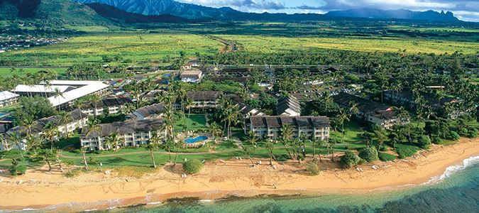 Aerial of Resort