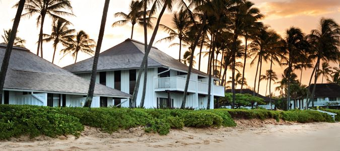 Exterior and Beach