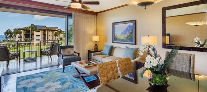 Two Bedroom Deluxe Partial Oceanview Villa