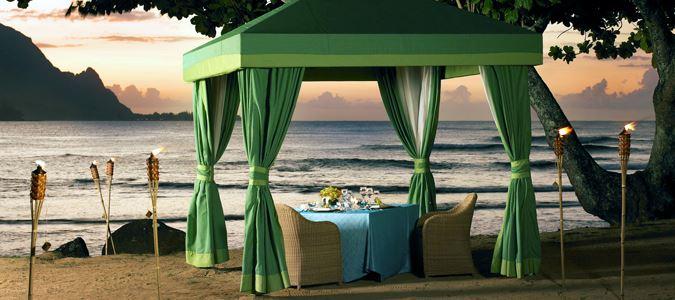 Cabana Dinner on the Beach