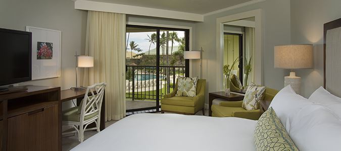 Deluxe Pool View Guestroom