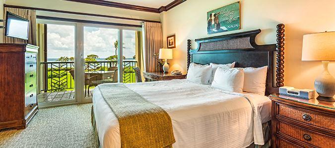 Two Bedroom Partial Oceanview Suite