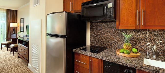 Deluxe Studio Villa Kitchen