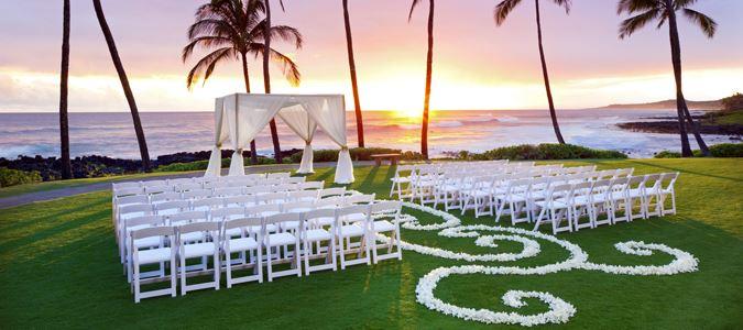 Ocean Lawn Wedding