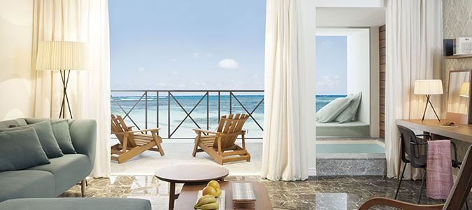 Excellence Club Rooftop Terrace Suite With Plunge Pool Oceanfront Rendering