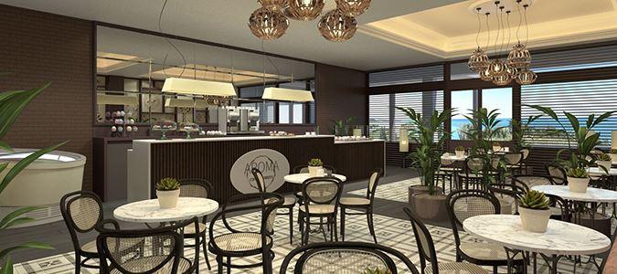 Aroma Café Rendering