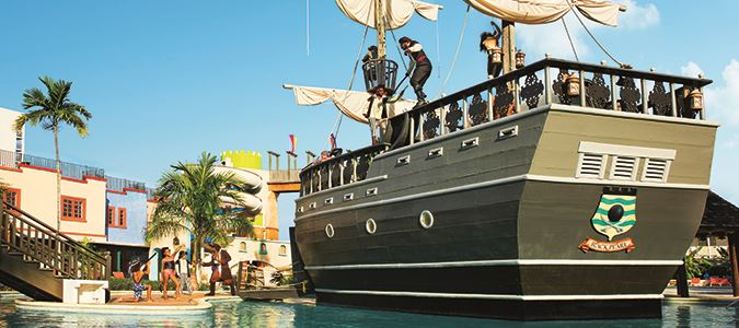 Water Park Pirate Ship