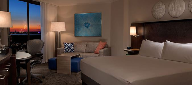 Epcot View Guestroom