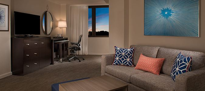 One Bedroom Junior Tower Suite