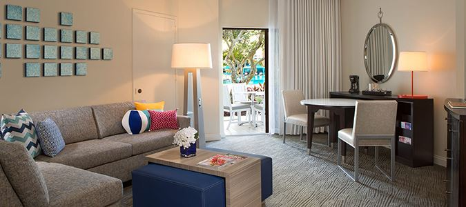 One Bedroom Island Suite
