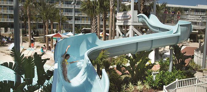 Cabana Bay Waterslide