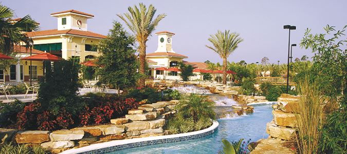 Exterior and Lazy River