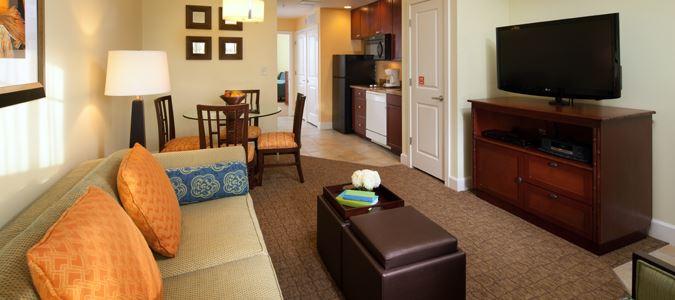 One Bedroom One Bath Villa - Furnishings May Vary