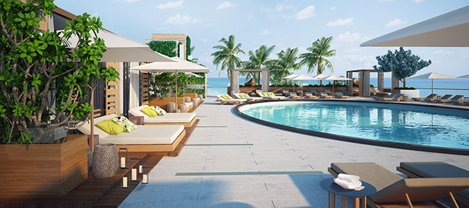 Pool Area Rendering
