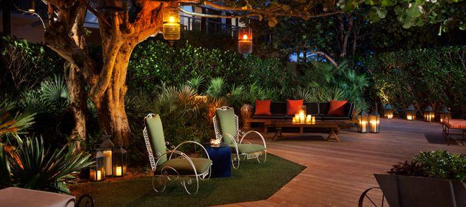 GROVE Garden at Night
