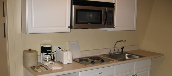 Gardenview Deluxe Guestroom with Kitchenette