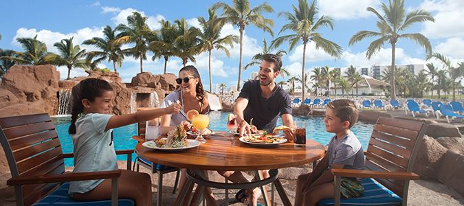 Las Iguanas Poolside Dining