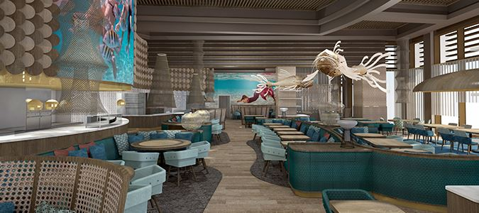 Fish Restaurant by Jose Andres - Rendering