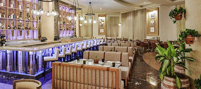 Cleo Mediterráneo Restaurant Rendering