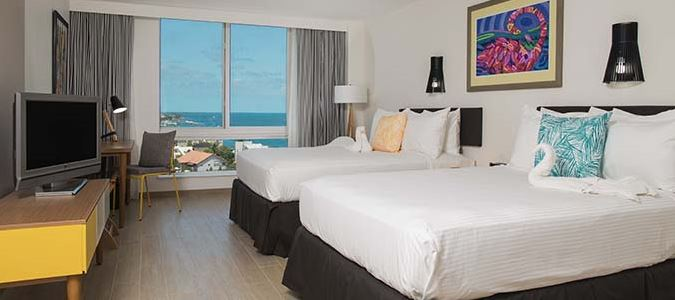 Waterview Double Double Guestroom