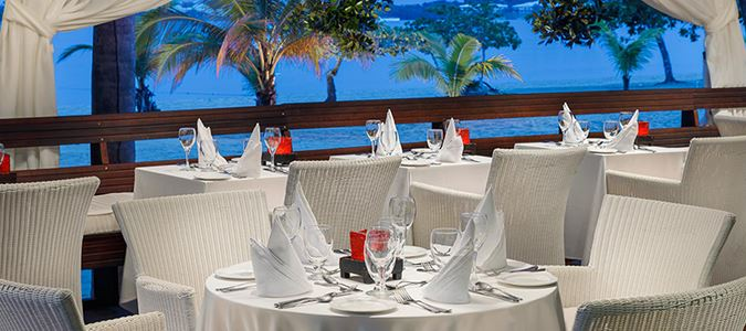 Beach Grill and Heliconia Restaurant
