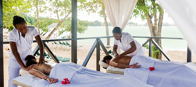 Beachside Couples Massage